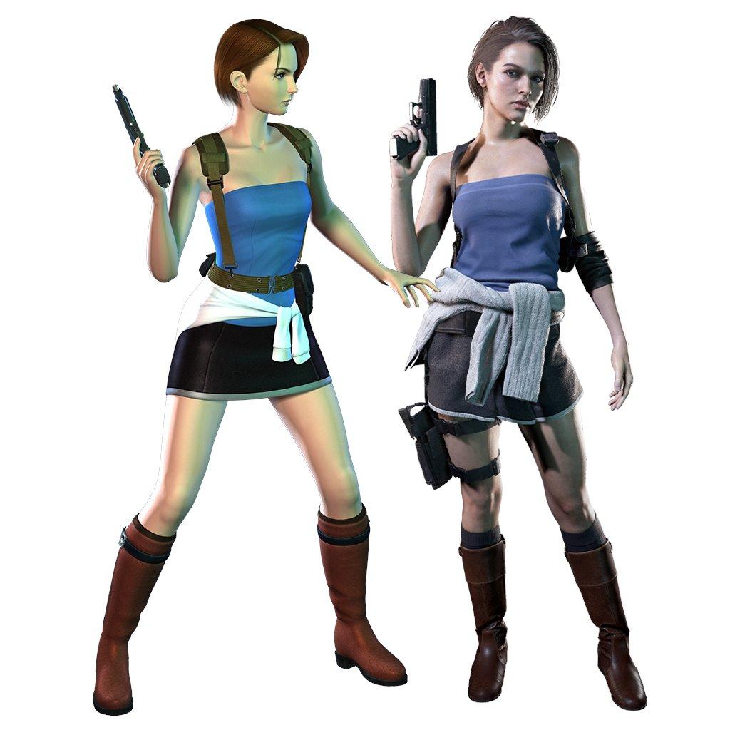 Jill Valentine S Miniskirt Exchanged For A Skort In Resident Evil